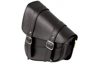 Black Friday Sale - Willie & Max Black Swingarm Bag - 59776-00