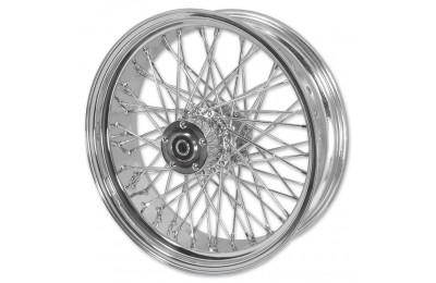 "Black Friday Sale - V-Factor Complete 40 Spoke Chrome Rear Wheel, 16 x 3"" - 51646"