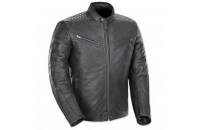 Black Friday Sale - Joe Rocket Men's Vintage Rocket Black/Black Leather Jacket - 1680-1005