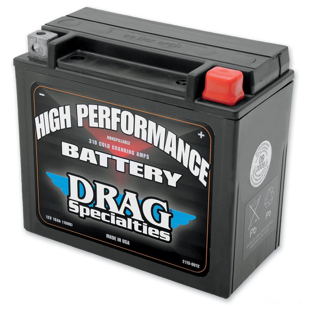 Black Friday Sale - Drag Specialties High Performance Battery - 2113-0012