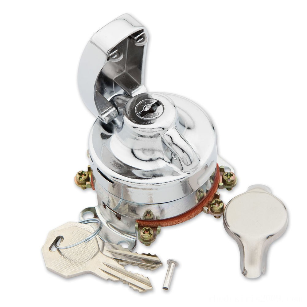Black Friday Sale - J&P Cycles Heavy-Duty Electronic Ignition Switch