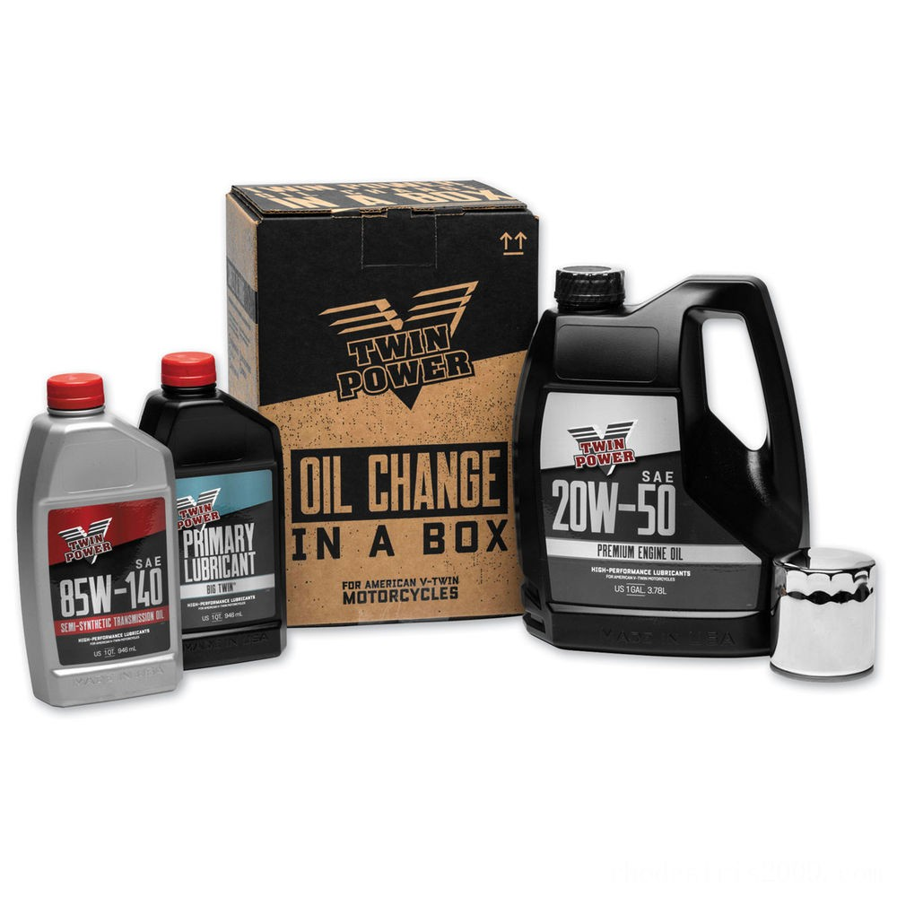 Black Friday Sale - Twin Power Oil Change Kit - 539049