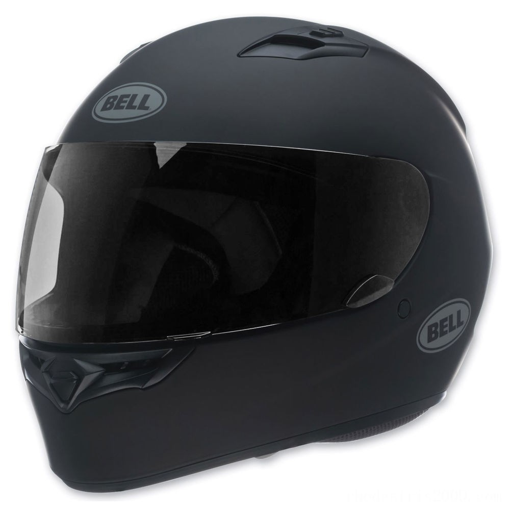 Black Friday Sale - Bell Solid Matte Black Qualifier Full Face Helmet - 7049223