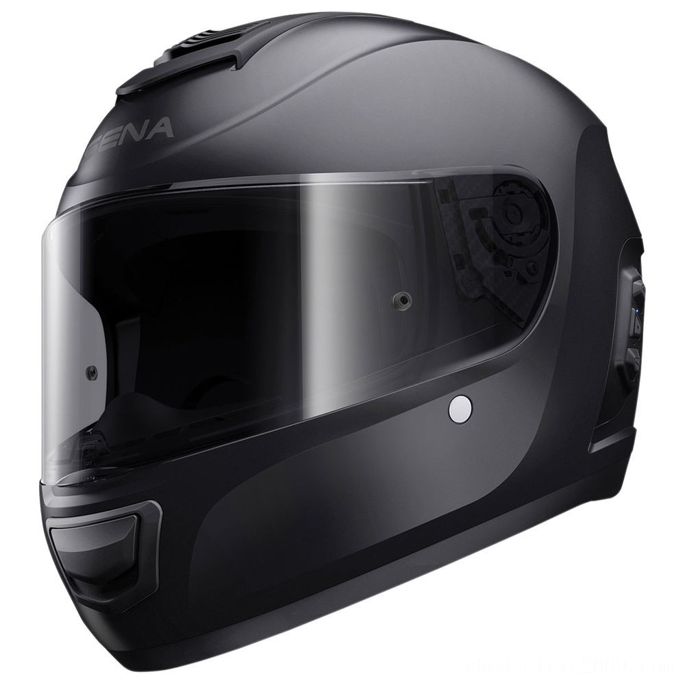 Black Friday Sale - Sena Technologies Momentum Lite Bluetooth Integrated Black Full Face Helmet - MO-LITE-MB-XXL-01