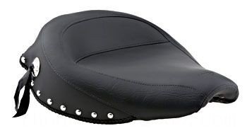 Black Friday Sale - Mustang Wide Studded Solo Seat - 75527