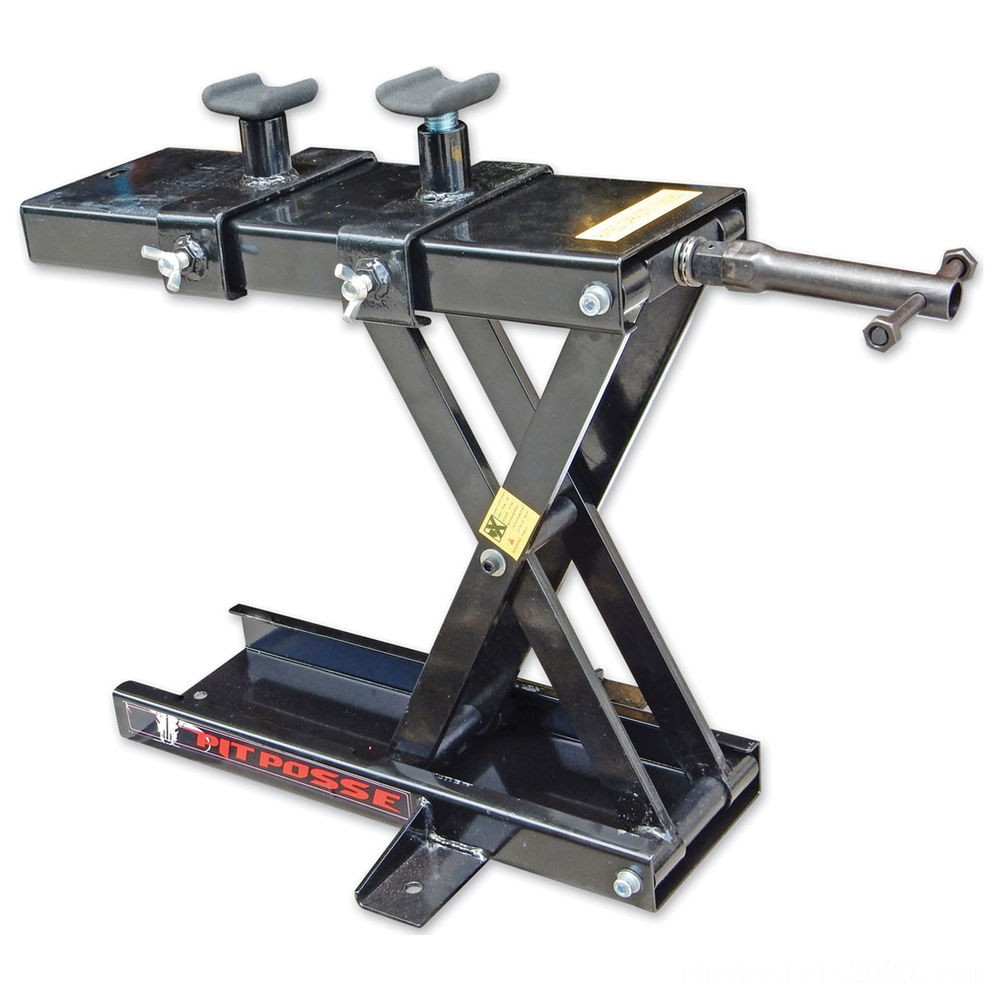 Black Friday Sale - Pit Posse Motorsports Scissor Jack with Adapters - PP3277