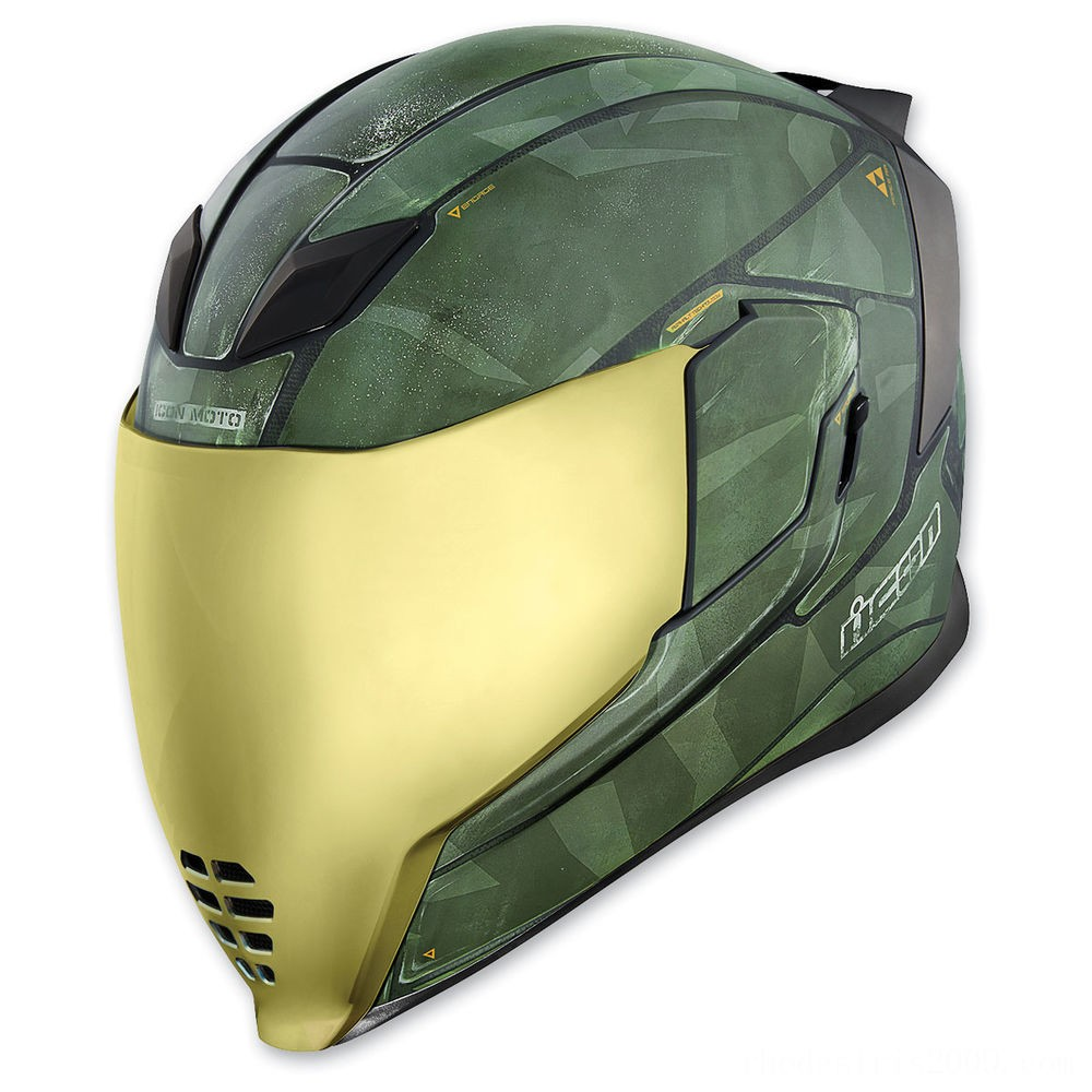 Black Friday Sale - ICON Airflite Battlescar 2 Full Face Helmet - 0101-11271
