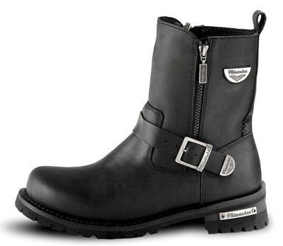 Black Friday Sale - Milwaukee Motorcycle Clothing Co. Men's Afterburner Boots - MB40718