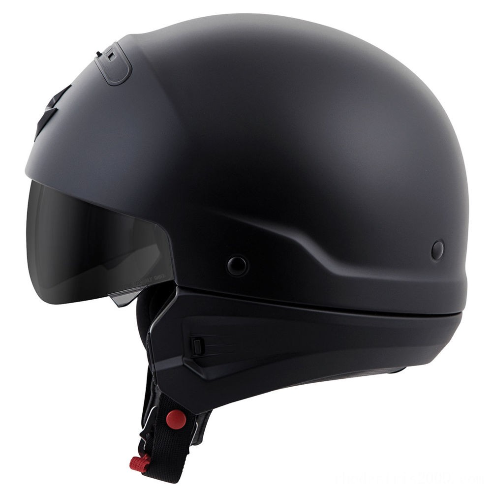 Black Friday Sale - Scorpion EXO Covert Matte Black Half Helmet - COV-0106