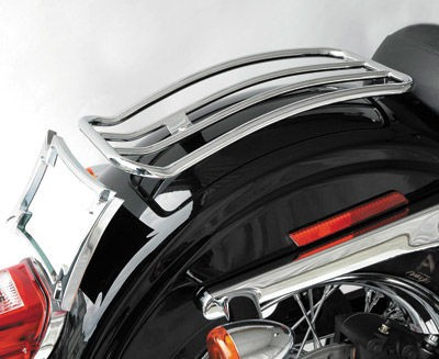 Black Friday Sale - Motherwell Chrome Solo Seat Luggage Rack - MWL-530
