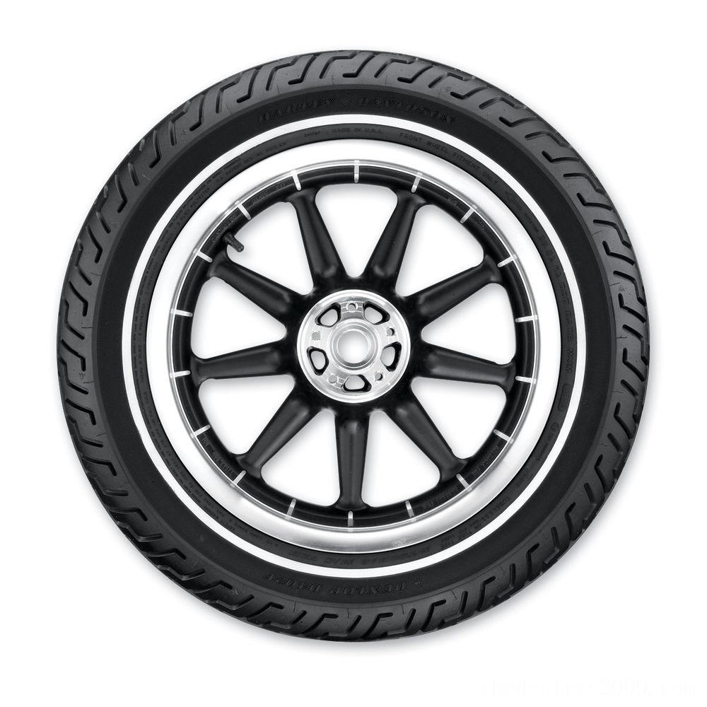 Black Friday Sale - Dunlop D402 MT90B16 Narrow Whitewall Front Tire - 45006655