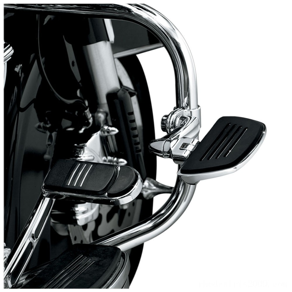 Black Friday Sale - Kuryakyn Chrome Premium Mini Floorboard - 4392