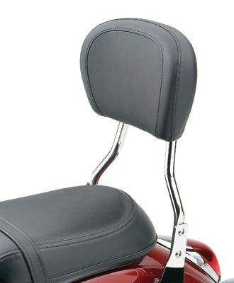 Black Friday Sale - Cobra Short Round Sissy Bar with Pad - 028650