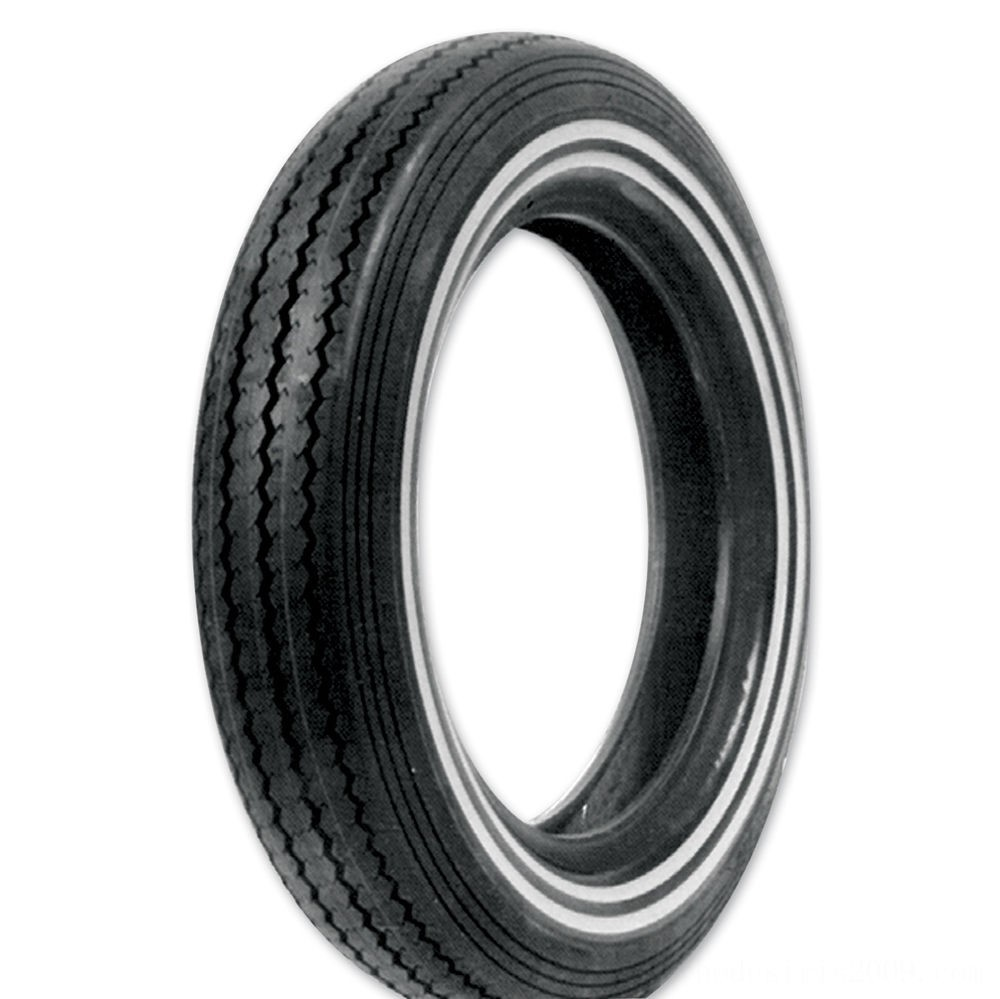 Black Friday Sale - Shinko 240 Classic MT90-16 Dual Whitewall Front/Rear Tire - 87-4112