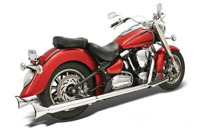 Black Friday Sale - Bassani Power Curve True-Dual Crossover Header Pipes - 31115A